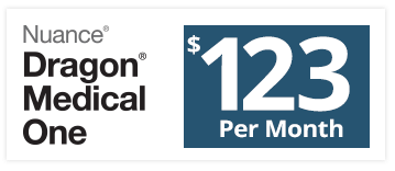 Image of Dragon® Medical One monthly price - $123